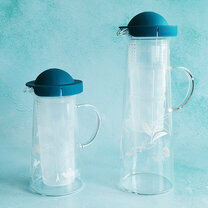 "CARAFE ""HANDY COOLER"" 600ml - TURQUOISE"