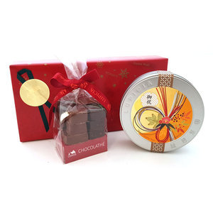Coffret Chocolats & Biscuit gourmand