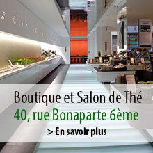 Boutique et Salon de Thé LUPICIA à Paris