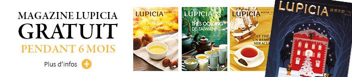 Magazine LUPICIA - Offert pendant 6 mois.