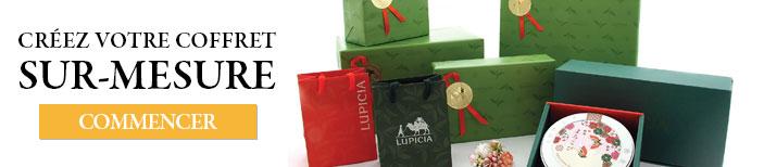 Créez votre coffret cadeau sur-mesures.