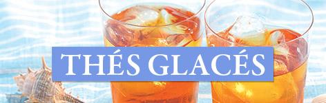 Sélection de thés glacés