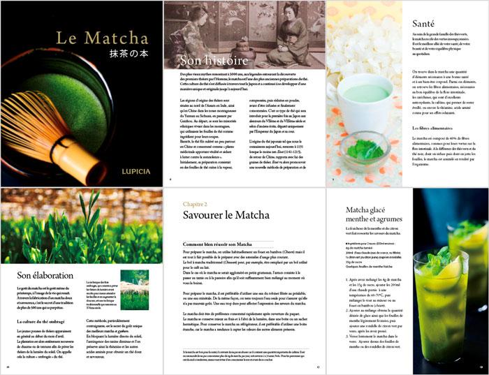 Livre sur le Matcha - Extraits