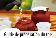 Guide de préparation du thé