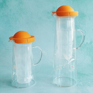 CARAFE À THÉ 600ml ORANGE