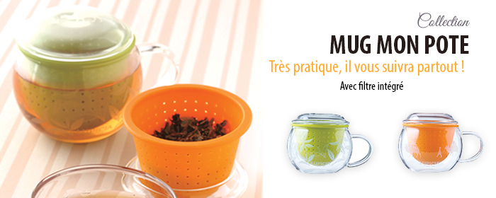 Mug à thé MON POTE